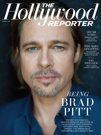 Oscar Nominee Brad Pitt On The Unmentionables: Marriage, Politics and Religion