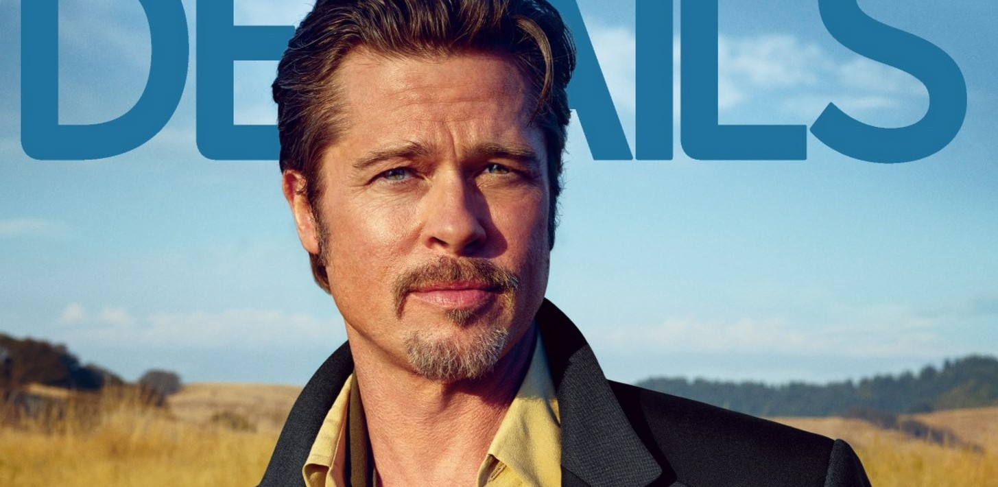 Brad Pitt covers Details November (Scans + Photoshoot + Video)