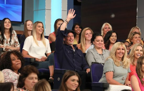 Brad Pitt Surprises Audience on Ellen