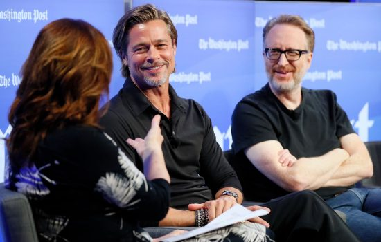 "Brad Pitt talks ""Ad Astra"" with The Washington Post"