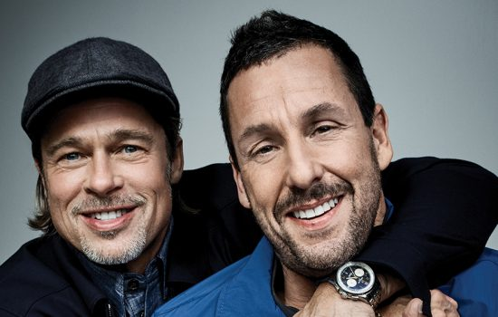 Actors on Actors: Brad Pitt and Adam Sandler