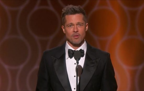 Brad Pitt to Present at the Golden Globes