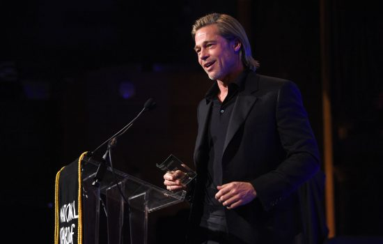 Brad Pitt Wins at National Board of Review Awards