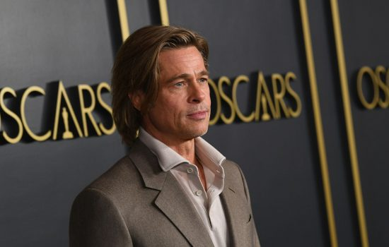 Brad Pitt at the Oscars Nominees Luncheon