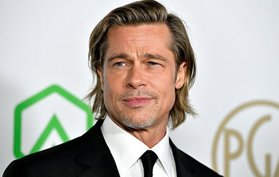 Brad Pitt Receives PGA Awards Honor