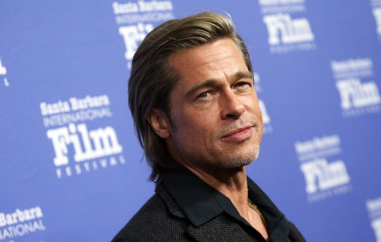 Brad Pitt Honored at the Santa Barbara Film Festival