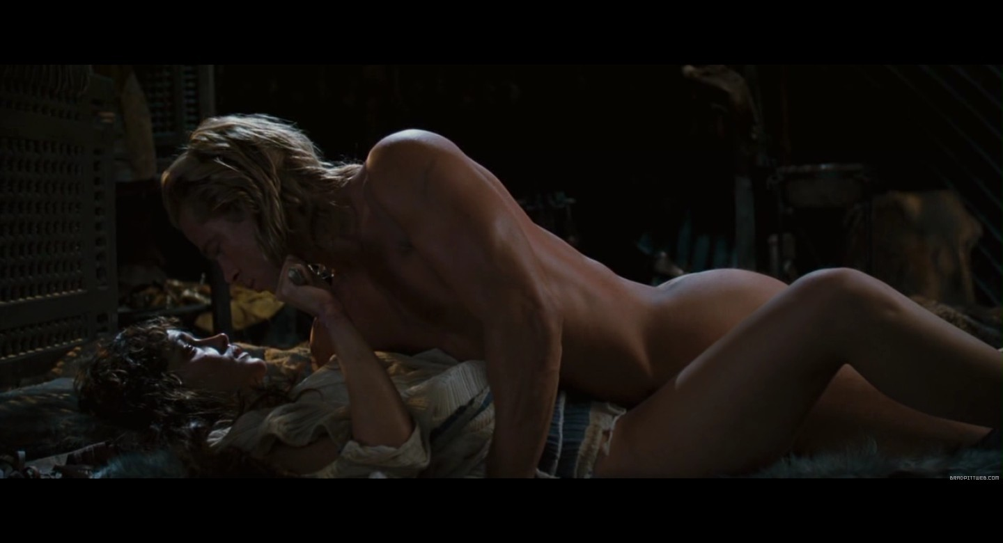 Troy topless scene, blow job in a hurry